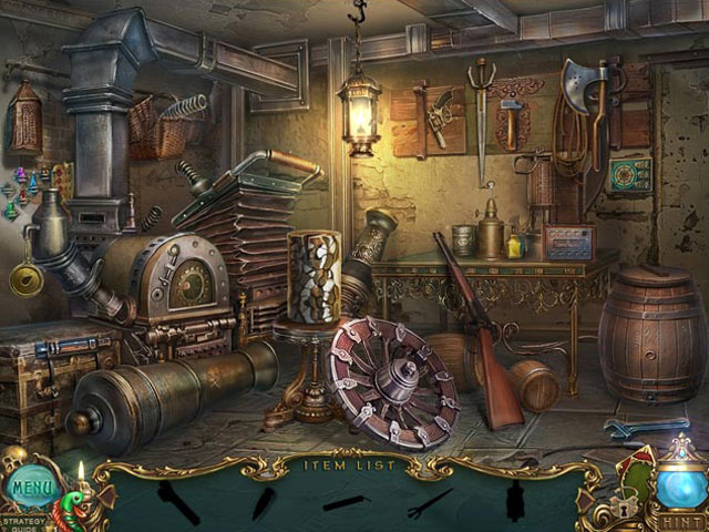 Haunted Legends: The Undertaker Collector's Edition large screenshot