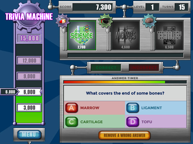 Trivia Machine Reloaded large screenshot