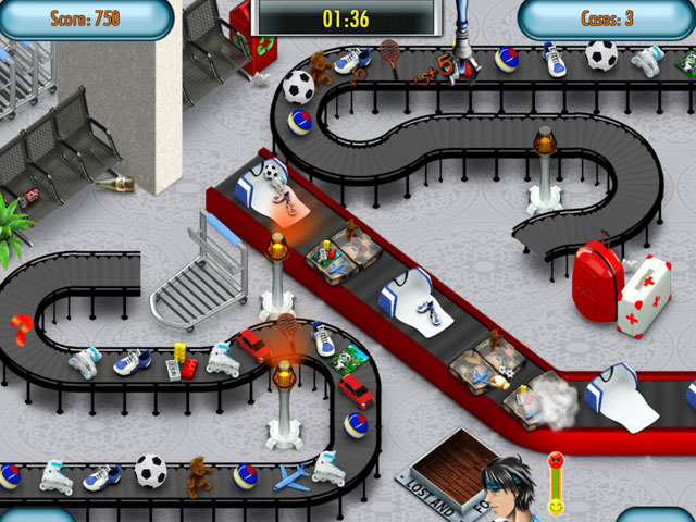 Airline Baggage Mania Deluxe Screenshot 1