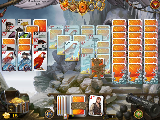Seven Seas Solitaire Screenshot 1