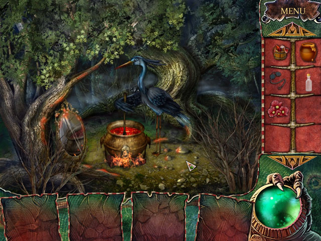The Witch's Green Amulet Screen_3