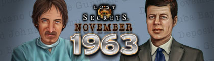 Lost Secrets: November 1963 screenshot