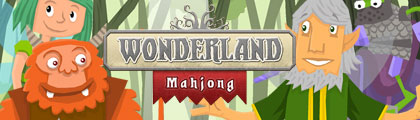 Wonderland Mahjong screenshot