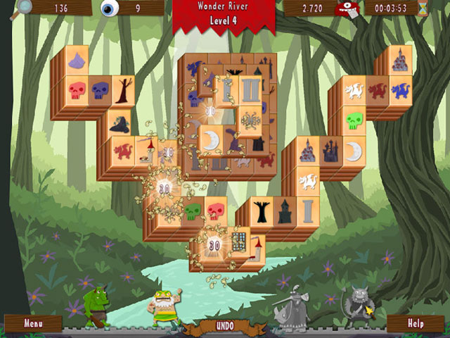 Wonderland Mahjong large screenshot