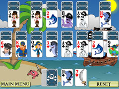 Pirate Solitaire Screenshot 1