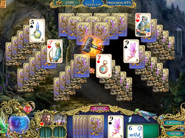 The Chronicles of Emerland Solitaire Screenshot 1