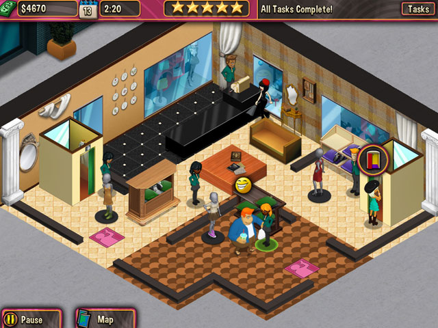 Boutique Boulevard Screenshot 1