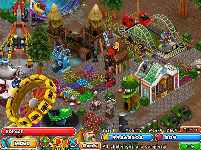 Dream Builder: Amusement Park large screenshot