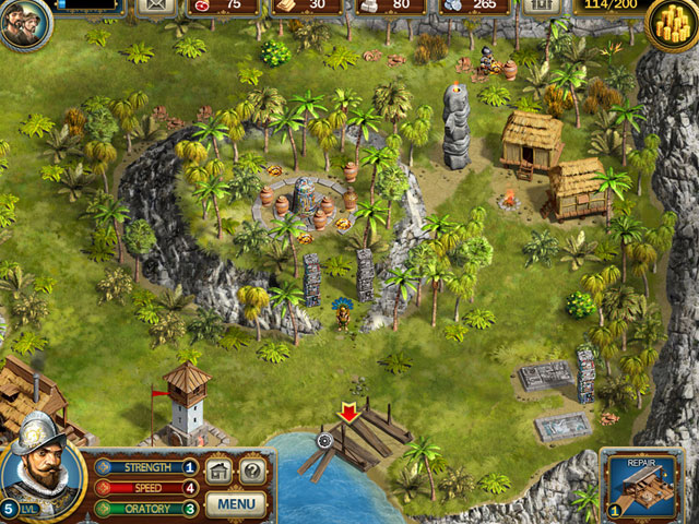 Adelantado Trilogy: Book One Screenshot 1