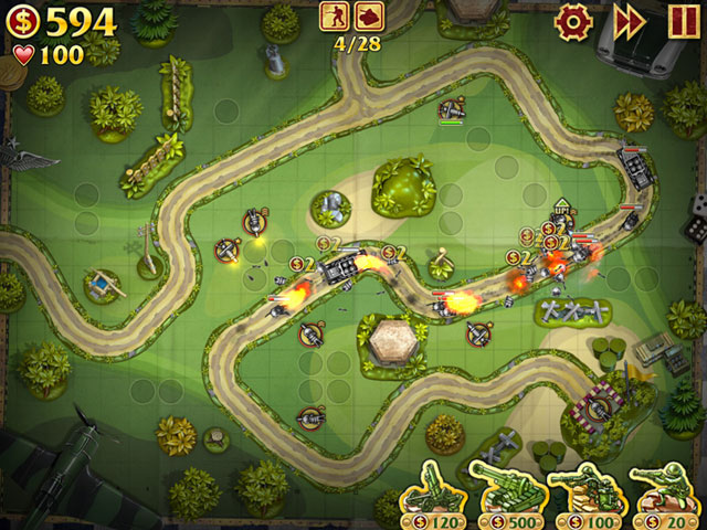 Toy Defense Screenshot 1
