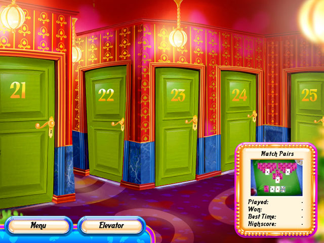 Hotel Solitaire Screenshot 1