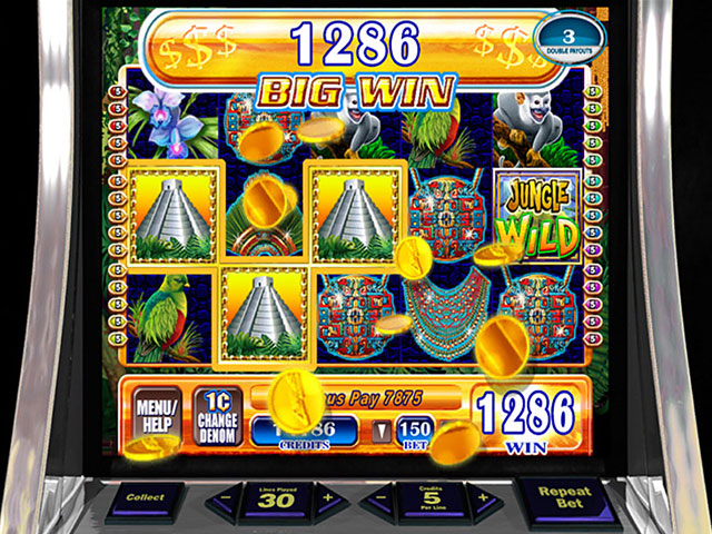 WMS Slots: Jungle Wild Screenshot 1