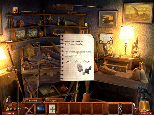 Midnight Mysteries: Haunted Houdini - Collector's Edition large screenshot