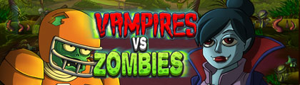 Vampires vs Zombies screenshot