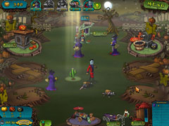 Vampires vs Zombies Screenshot 3