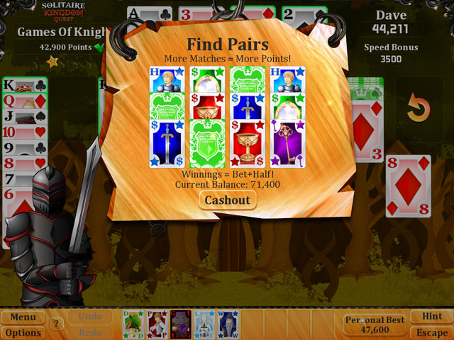 Solitaire Kingdom Quest Screenshot 1