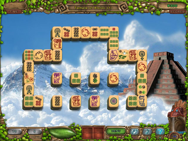 Mahjong: Legacy of the Toltecs large screenshot