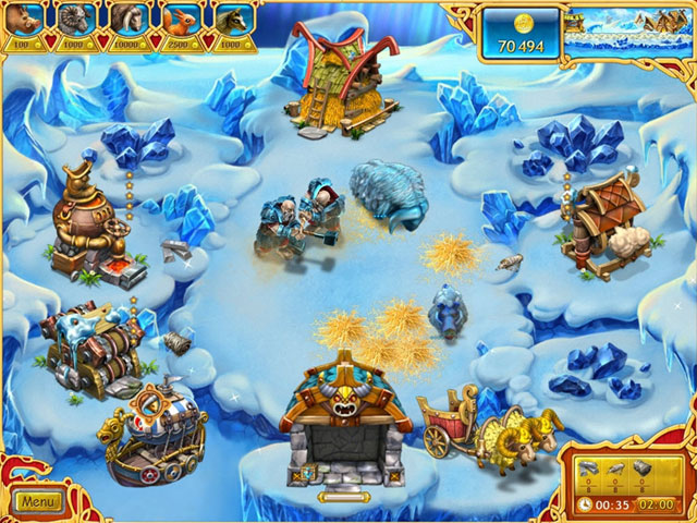 Farm Frenzy: Viking Heroes Screenshot 1