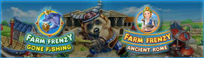 Farm Frenzy Bundle: Gone Fishing in Ancient Rome screenshot