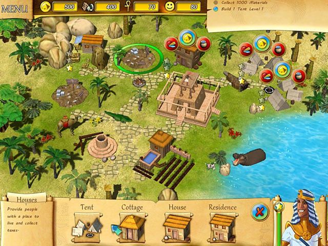 Fate of the Pharaoh Screenshot 1