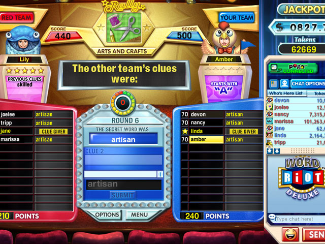 Word Riot Deluxe Screenshot 1