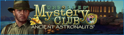 Unsolved Mystery Club: Ancient Astronauts Collector's Edition screenshot
