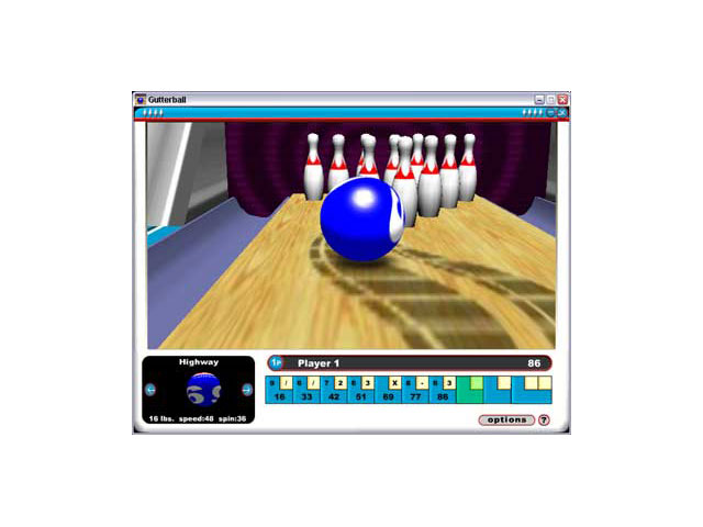 Gutterball large screenshot