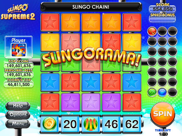 Slingo Supreme 2 Screenshot 1
