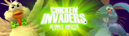 Chicken Invaders 4: Easter Edition screenshot