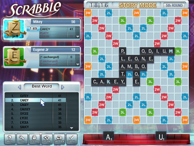 Scrabble Tour Screenshot 1