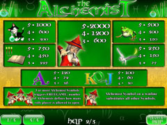 The Alchemist Slots Screenshot 3