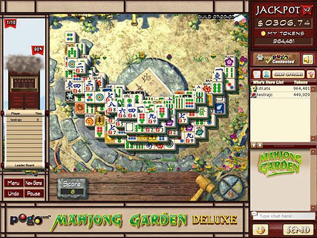 Mahjong Garden Deluxe Screenshot 1