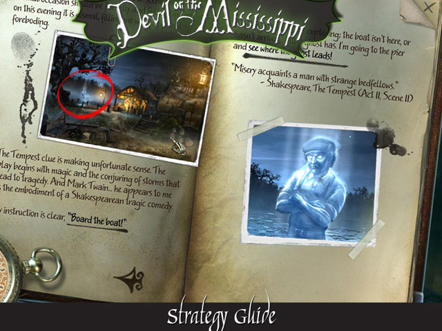 Midnight Mysteries: Devil on the Mississippi Collector's Edition large screenshot
