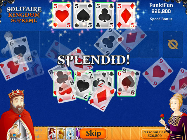 Solitaire Kingdom Supreme large screenshot