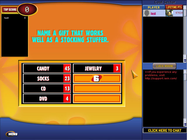 Family Feud Online Party Screenshot 1