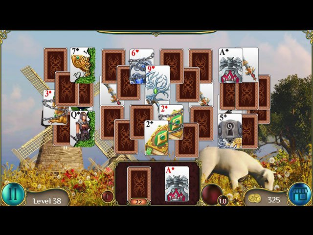 The Far Kingdoms: Awakening Solitaire large screenshot