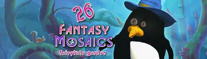 Fantasy Mosaics 26 - Fairytale Garden screenshot