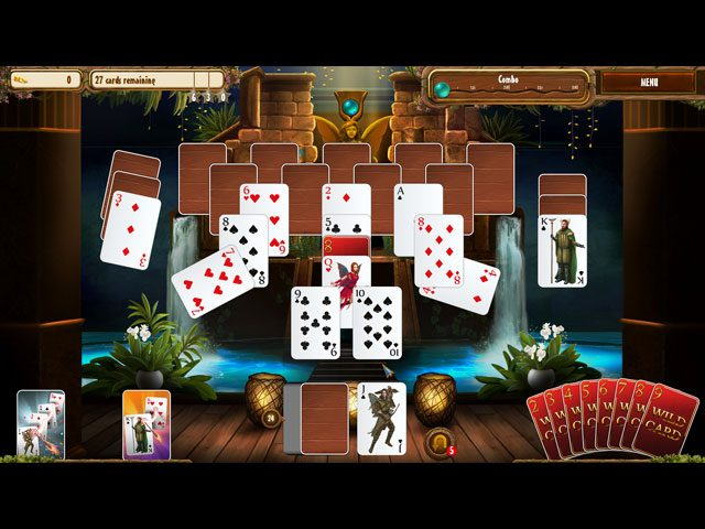 Fantasy Quest Solitaire large screenshot