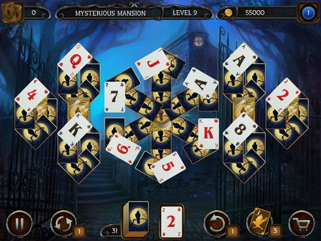 Mystery Solitaire: Arkham's Spirits large screenshot