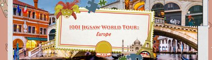 1001 Jigsaw World Tour - Europe screenshot