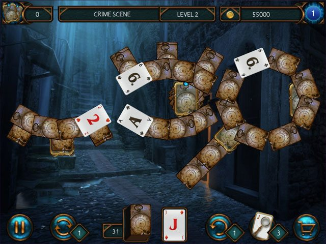 Detective Solitaire - Inspector Magic large screenshot