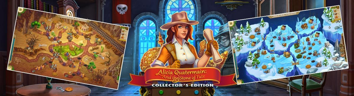 Alicia Quatermain and the Stone of Fate CE