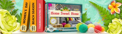 1001 Jigsaw - Home Sweet Home screenshot