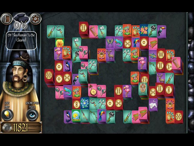 Mahjong Masters - Temple of the Ten Gods large screenshot