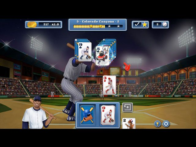 Home Run Solitaire large screenshot