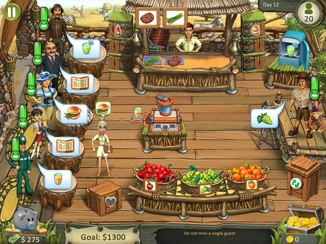 Katy & Bob - Safari Cafe Collector's Edition large screenshot