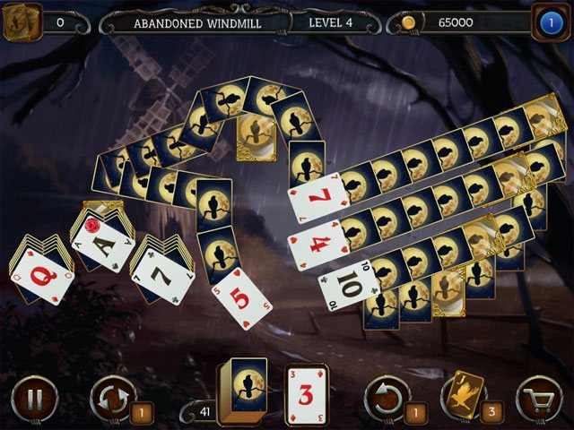 Mystery Solitaire - The Black Raven large screenshot