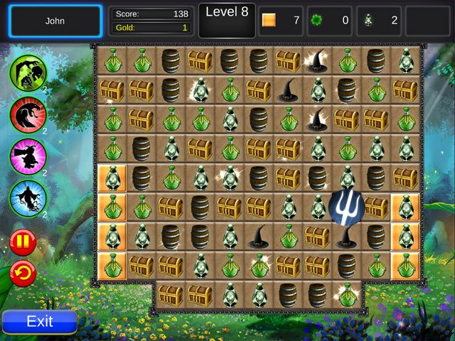 Medieval Mystery Match large screenshot