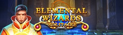 Solitaire. Elemental Wizards screenshot