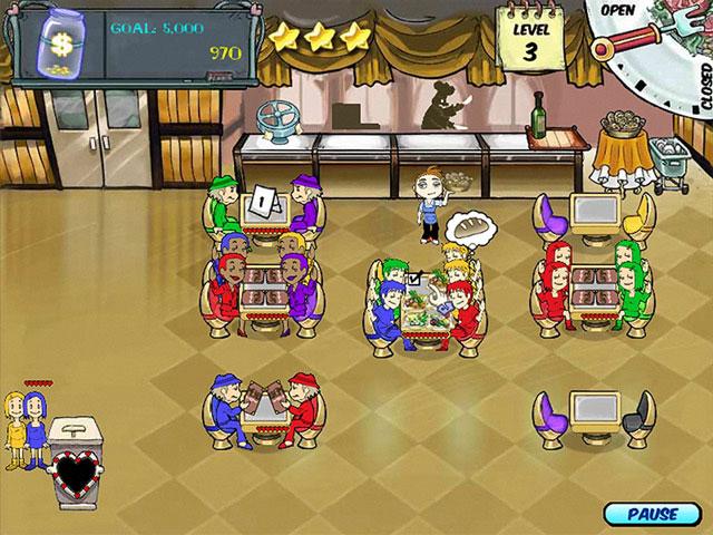 Diner Dash Screenshot 1
